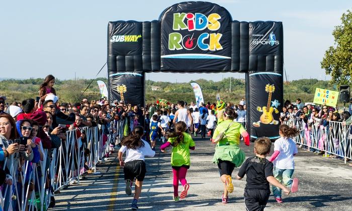Rock 'n' Roll Marathon - savannah daffin park: Kids Fun Run Entry at Rock 'n' Roll Marathon Savannah on Sunday, November 8, at 3:15 p.m.