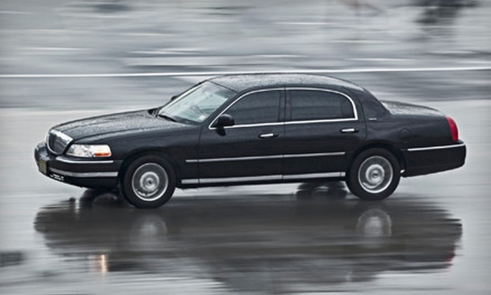 Luxe Limousines - Atlanta: Limousine Service to Hartsfield-Jackson Airport for Three from Luxe Limousines (Up to 72% Off). Three Options Available.