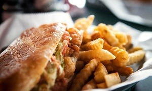 Po' Boys Creole Café: New Orleans–Style Cuisine at Po' Boys Creole Café (45% Off). Two Options Available.