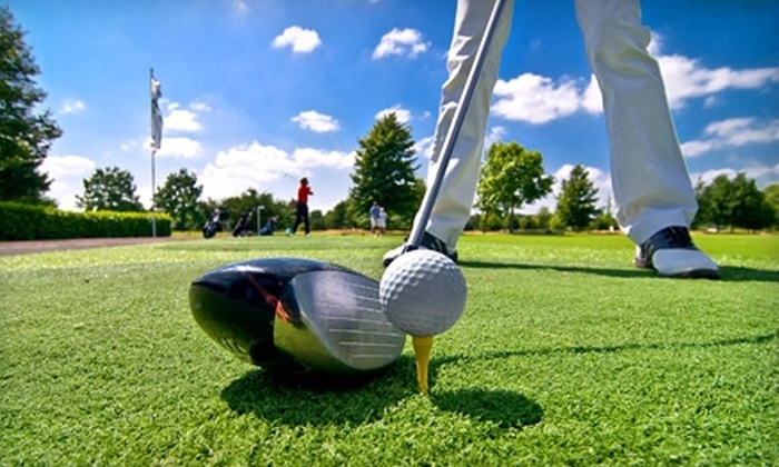 Golf Summerlin (Highland Falls, Palm Valley, Eagle Crest) - Sun City Summerlin: 18-Hole Round of Golf for Two Including Cart and Range Balls from Golf Summerlin (Up to 57% Off). Two Options Available.