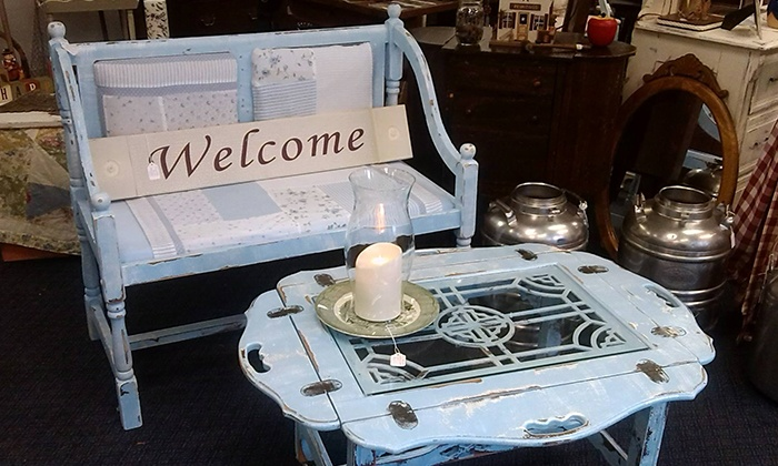 Seahorse Trading Co - Northwood: $99 for a Shabby-Chic Furniture-Painting Class for Two at Seahorse Trading Co ($200 Value)