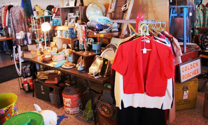 The Vintage Bazaar  - Multiple Locations: $10 for Four Visits to The Vintage Bazaar Flea Market at the Aragon Ballroom ($20 Value)