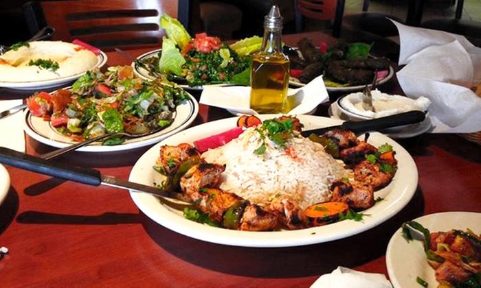 Ayla Mediterranean Restaurant - Commerce Township Downtown: Mediterranean Cuisine for Dine-In or Carry-Out at Ayla Mediterranean Restaurant (Up to 40% Off)
