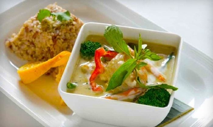 Wild Bangkok Bar and Grill - Central Business District: $25 for Four-Course Thai Dinner for Two at Wild Bangkok Bar and Grill (Up to $57.70 Value)