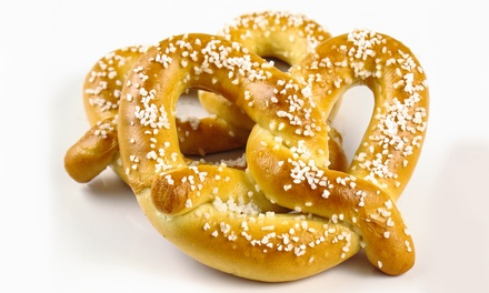 Pretzels or Half-Size Rivet Tray at Philly Pretzel Factory (Up to 40% Off)