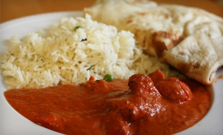 Indian Meal for Two or Four or Lunch Buffet for Four at Bombay Bites (Up to 52% Off)