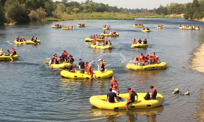 American River Raft Rentals - Sacramento: $42 for a Four-Person Raft Rental at American River Raft Rentals ($65 Value)
