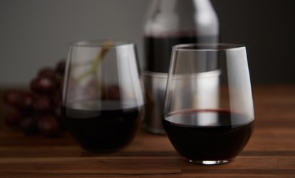 <strong>Wine Tasting</strong> for Two or Four with Logo Glasses at 6 Mile Cellars (Up to 50% Off)