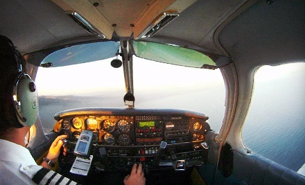 $149 for a Scenic Flight with Champagne for Two from ALG Aviation ($400 Value)