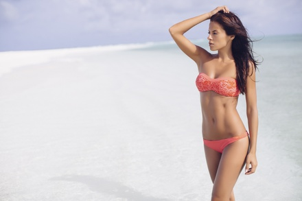 One Brazilian, Bikini, or Half-Leg Wax at Purely Caribbean (Up to 51% Off)