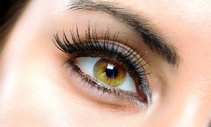 Q Nails - West Carmel Center: Extreme or Cluster Eyelash Extensions at Q Nails (Up to 64% Off)
