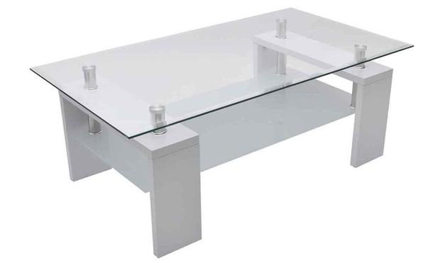 tables basses diverses groupon. Black Bedroom Furniture Sets. Home Design Ideas