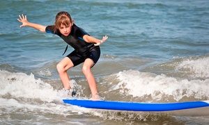 Grom Gear: One-Day Soft-Top Surfboard Rental for One or Two from Grom Gear (52% Off)