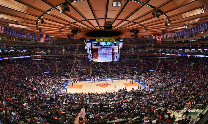 New York Knicks - Madison Square Garden: NY Knicks Game at Madison Square Garden on March 19, March 25, April 8, or April 15. Seating Options Starting at $54.