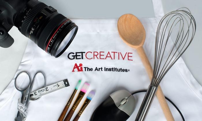 The Art Institute of Washington - The Art Institute of Washington: GETCreative Classes at The Art Institute of Washington (Up to 54% Off). Four Options Available.