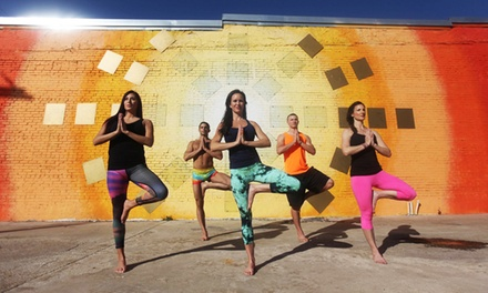 10 or 20 Yoga Classes at Vibe Yoga (Up to 72% Off)