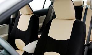 Full Set Of Fabric Car-seat Covers