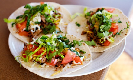 Dine-In Taco Meal for Two or Four, or $20 Toward Take-Out at Tacos & Beer (Up to 39% Off)