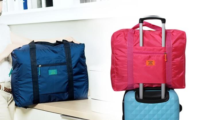 sac de voyage pliable adaptable trolley groupon shopping. Black Bedroom Furniture Sets. Home Design Ideas