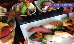 I Love Sushi on Lake Union: Chef's Prix Fixe Japanese Dinner for Two at I Love Sushi on Lake Union. Groupon Reservation Required.