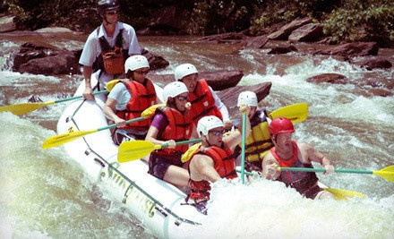 Half-Day Whitewater-Rafting Trip for One, Two, or Four on the Ocoee River from Sunburst Adventures (Up to 61% Off)