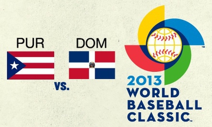 2013 World Baseball Classic - Marlins Park: 2013 World Baseball Classic on March 15, or 16 (Half Off). Three Seating Options Available.