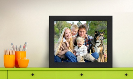 Custom Photo on Framed Canvas from $5–$49.99 from Framed Up