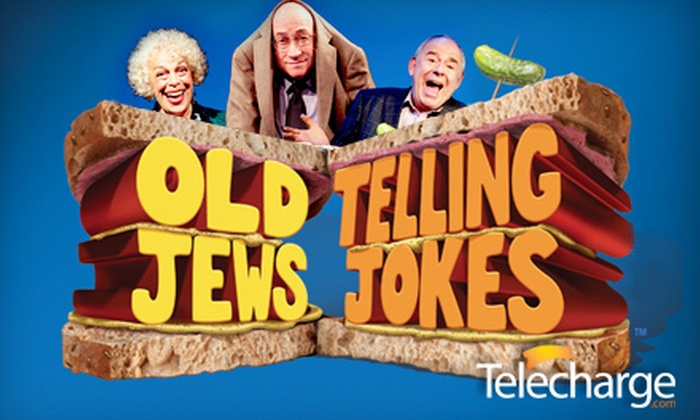 "Old Jews Telling Jokes - Clinton: ""Old Jews Telling Jokes"" at Westside Theatre (Up to 46% Off). 37 Performances Available."