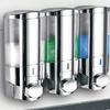 HotelSpa Ultra-Luxury Soap/Shampoo/Lotion Shower Dispenser System