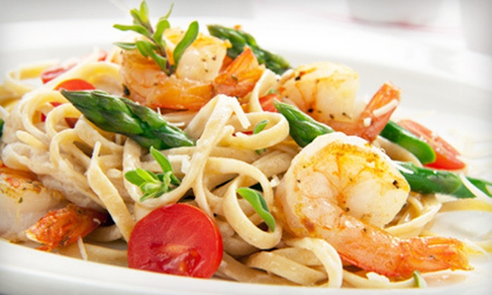 Italian Cafe - Jefferson: Half Off Italian Cuisine at Italian Cafe (Half Off). Two Options Available.