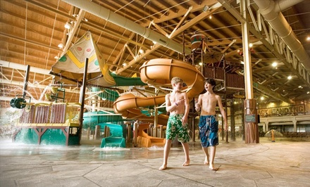 Stay with Daily Water Park Passes at Great Wolf Lodge Grand Mound in Washington
