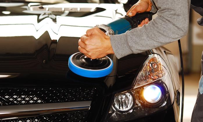 Lavage de carrosserie extérieure avec dépollution, polish et protection de carrosserie à 59 € chez Auto Clean