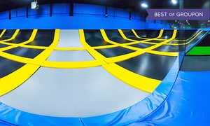 Bounce! Trampoline Sports: Two Hours of Jump Time at Bounce! Trampoline Sports (Up to 42% Off). Four Options Available.