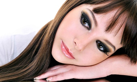 Keratin Treatment with Options for Haircut and Highlights at Karizma Professional Beauty Services (Up to 61% Off)