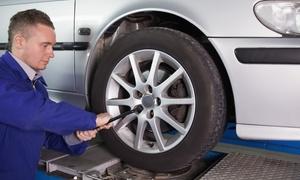 G.V.A. Transport: Cambio gomme con check up auto e ricarica aria condizionata da G.V.A. Transport (sconto fino a 78%)