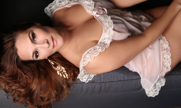 "Tait Photography - Baltimore: $79 for a Boudoir Photo Shoot with Two Retouched 4""x6"" Prints at Tait Photography ($240 Total Value)"