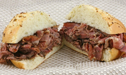 Deli Sandwiches or Party Trays and Boxed Lunches at The Posh Nosh Deli (50% Off). Three Options Available.