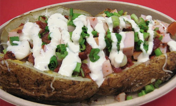 Spudology - Springbrook: Baked Potatoes at Spudology (Up to 40% Off). Three Options Available.