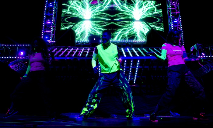 OMG Fitness Concert - Elryia Swansea: Glow-in-the-Dark Fitness Activities for One or Two at OMG Fitness Concert on Sunday, September 22 (Up to 53% Off)