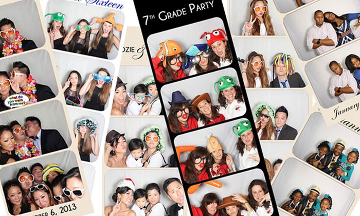 Garden State Photo Studio - New York City: Three-Hour Photo-Booth or Four-Hour Instagram Printing-Station Rental from Garden State Photo Booth (50% Off)