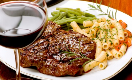Steak and Seafood for Two or Four at The Hunt Room (Up to Half Off)