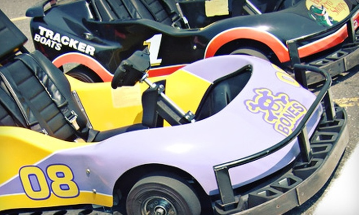 Stratford Speedway - Stratford: Four Go-Kart Rides for Two, Four, or Six at Stratford Speedway (Half Off)