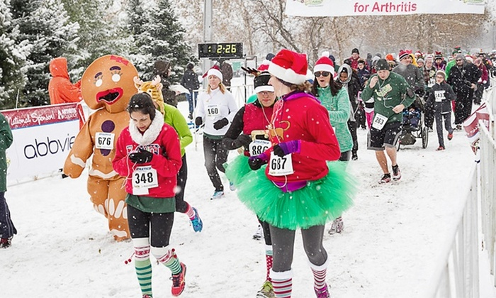 Jingle Bell Run/Walk  - Westport: Jingle Bell Run/Walk Entry and T-shirt for One or Two (Up to 40% Off)