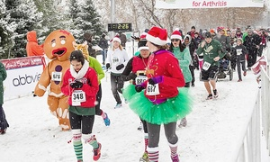 Jingle Bell Run/Walk : Jingle Bell Run/Walk Entry and T-shirt for One or Two (Up to 40% Off)