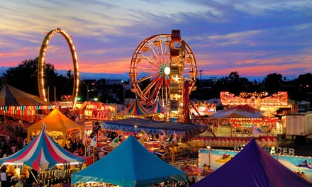 One-Day Admission for Two, Four, Six, Eight, or Sixteen to the San Mateo County Fair (Up to 44% Off)