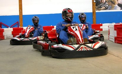 image for $28 for Two 20-Lap Go-Kart Races at Grand Prix Raceway in Lakewood (Up to $44 Value)