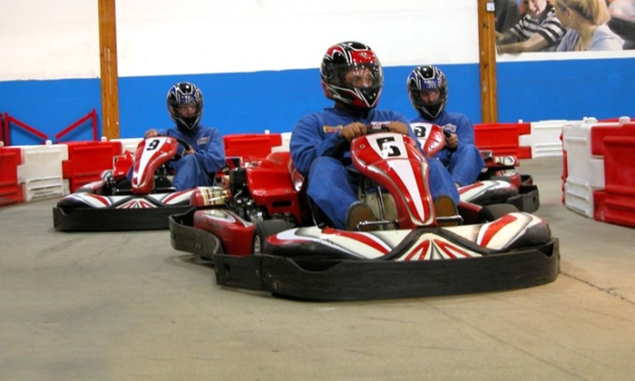 Grand Prix Raceway - Pacific: $22 for Two 20-Lap Go-Kart Races at Grand Prix Raceway in Lakewood (Up to $44 Value)