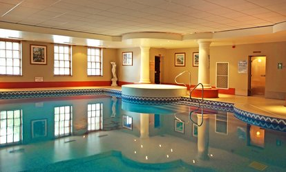image for Afternoon Tea for Two or Four with All Day Leisure Club Access (Up to 52% Off)