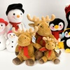 Winter Wonderland 3-Piece Plush Family Sets