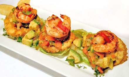 Latin Meal with an Appetizer and Drinks for Two or Four at Conga Latin Bistro (Up to 53% Off)